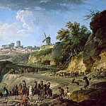 Claude-Joseph Vernet -- Construction of a Grand Chemin, Part 3 Louvre