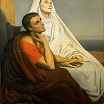 Ary Scheffer -- Saint Augustine and His Mother, Saint Monica, Part 3 Louvre
