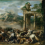 Part 3 Louvre - Salvator Rosa (1615-1673) -- Heroic Battle