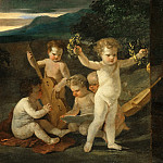 Part 3 Louvre - Nicolas Poussin -- Concert of Cupids
