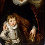 Anthony van Dyck -- Portrait of a father with his son, also called Portrait of Guillaume Richardot and his son, Part 3 Louvre