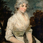 Attributed to John Hoppner -- Portrait of a Woman, Part 3 Louvre