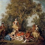 Nicolas Lancret -- Autumn, Part 3 Louvre