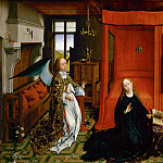 Rogier van der Weyden -- Annunciation, Part 3 Louvre