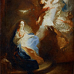 Maulpertsch, Franz Anton -- Annunciation. Canvas, RF 1997-5, Part 3 Louvre