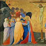 Part 3 Louvre - Master of the Madonna of San Pietro d'Ovile -- Crucifixion