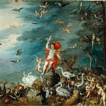 Jan Brueghel the elder -- Air, Part 3 Louvre