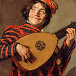 Part 3 Louvre - Frans Hals -- Jester with a Lute