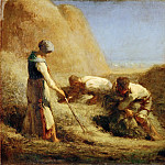 Jean-François Millet -- The Haymakers, Part 3 Louvre
