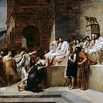 Part 3 Louvre - Guillaume Lethiere -- Brutus condemns his son to death