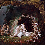 Richard Dadd -- The slumber of Titania, Part 3 Louvre