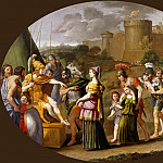Domenichino -- Timocleia before Alexander, Part 3 Louvre