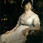 Part 3 Louvre - Attributed to John Opie -- The Woman in White