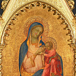 Lorenzo Monaco -- Virgin of Humility, Part 3 Louvre