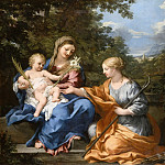 Pietro da Cortona -- The Virgin and Child with St. Martine, Part 3 Louvre