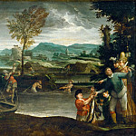 Annibale Carracci -- Fishing, Part 3 Louvre