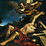 Guercino -- Vision of Saint Jerome, Part 3 Louvre