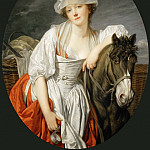 Part 3 Louvre - Jean-Baptiste Greuze (1725-1805) -- The Milkmaid
