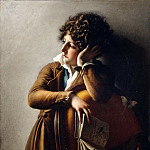 Part 3 Louvre - Anne-Louis Girodet de Roucy-Trioson -- Portrait of Benoît-Agnès Trioson, known as Ruehaus or Ruoz (1790?1804). Previously known as Romainville Trioson