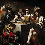 Valentin de Boulogne -- A concert around the bas-relief, Part 3 Louvre