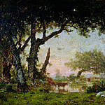 Part 3 Louvre - ROUSSEAU, Th?odore -- (b. 1812, Paris, d. 1867, Barbizon)