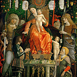 Andrea Mantegna -- The Virgin of Victory, Part 3 Louvre