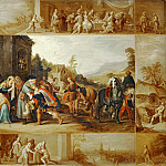 Frans Francken II -- Parable of the Prodigal Son, Part 3 Louvre