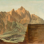 Simon Alexandre Clement Denis -- The summit of Mount Epomeo on the Island of Ischia, Part 3 Louvre