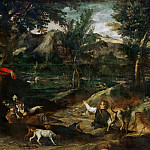 Annibale Carracci -- Hunt, Part 3 Louvre