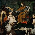 Part 3 Louvre - Valentin de Boulogne -- Judgment of Solomon