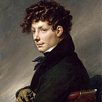 Part 3 Louvre - Anne-Louis Girodet de Roucy-Trioson -- Portrait of a Young Man as a Hunter