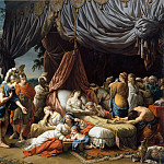 Part 3 Louvre - Louis Jean François Lagrenée -- Death of the Wife of Darius