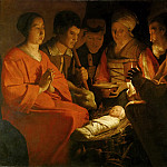 Georges de La Tour -- Adoration of the Shepherds, Part 3 Louvre