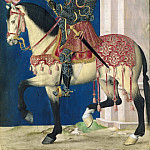 Part 3 Louvre - School of Jean Clouet -- Equestrian portrait of François Ier