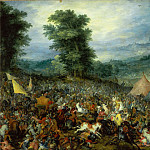 Jan Brueghel the elder -- Battle of Issus, Part 3 Louvre