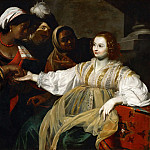 Part 3 Louvre - Nicolas Regnier (c. 1590-1667) -- The Fortune Teller