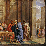 Noël Coypel -- Solon upholds his laws against the objections of the Athenians, Part 3 Louvre