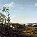 Part 3 Louvre - Frans Post -- 'Three diverse houses' or 'Habitations of the sugar planters'