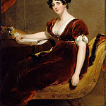 Part 3 Louvre - Thomas Lawrence -- Mrs. Isaac Cuthbert