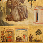 Giotto -- Saint Francis of Assisi Receiving the Stigmata, Part 3 Louvre