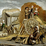Antoine Le Nain , Louis Le Nain or Mathieu Le Nain -- The Haycart, Part 3 Louvre