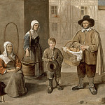 Jean Michelin -- Bread merchants and water carriers, Part 3 Louvre