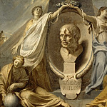 Part 3 Louvre - Charles Le Brun -- Tomb of Seneca