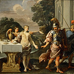 Giuseppe Passeri -- Armida and the Companions of Renaud, Part 3 Louvre