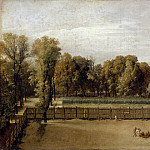 Jacques-Louis David -- View of the Luxemburg Garden in Paris, Part 3 Louvre