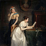 Part 3 Louvre - Jean Augustin Franquelin -- Response to the Letter