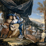Part 3 Louvre - Isaac Moillon -- Allegory of Music