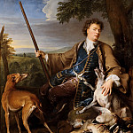Alexandre-François Desportes -- Portrait of the artist as a hunter, Part 3 Louvre