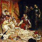 Death of Elizabeth, Queen of England, in 1603, Paul Delaroche