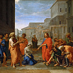 Nicolas Poussin -- Christ and the Adulteress, Part 3 Louvre